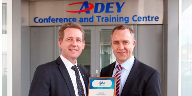 Industry accreditation for ADEY's training centre