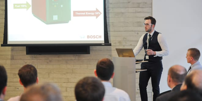 Popular - Bosch provides CHP workshop for young engineers