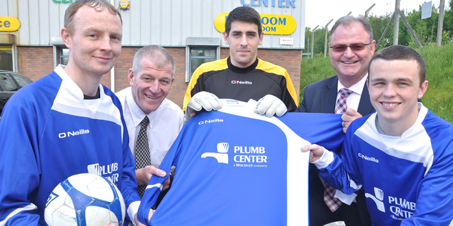 Plumb Center FC get kitted out