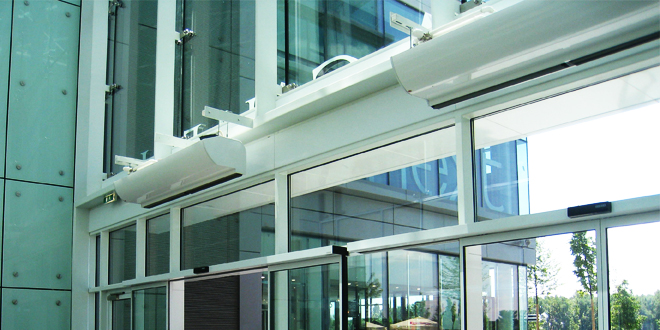Top tips for air curtain installations
