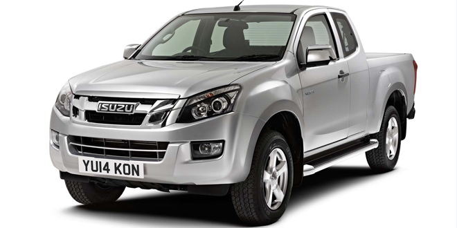 Isuzu extends D-Max pick-up range