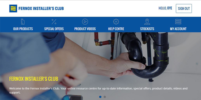 Fernox Installer's Club re-launches