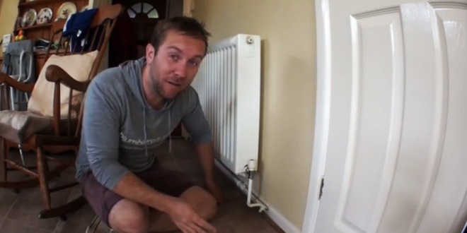 How to drain down heating systems