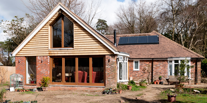 Woodland home saves on space and bills with all-in-one NIBE system