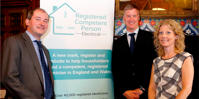Minister unveils new register for all Part P registered electrical installers