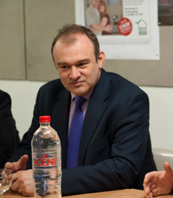 Energy and Climate Change Secretary Ed Davey