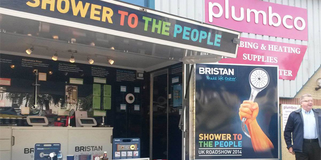 Shower to the People goes the extra mile