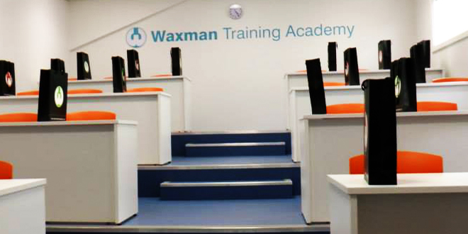 Waxman Training Academy warmly welcomes HETAS accreditation