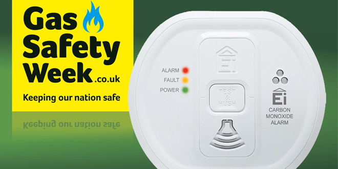 Aico pledges its support for gas safety week