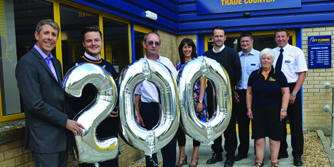 City Plumbing Supplies hits two big milestones