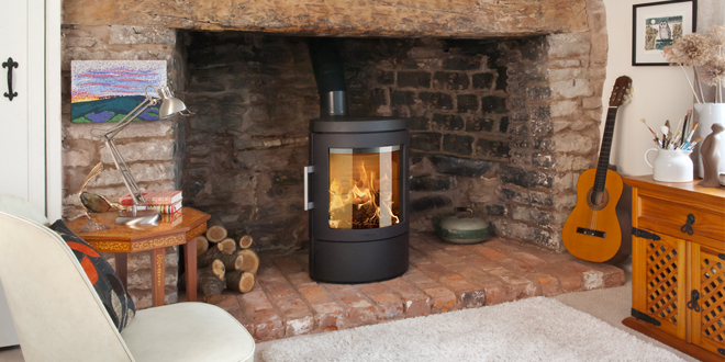 Switch to wood burning and keep warm this winter