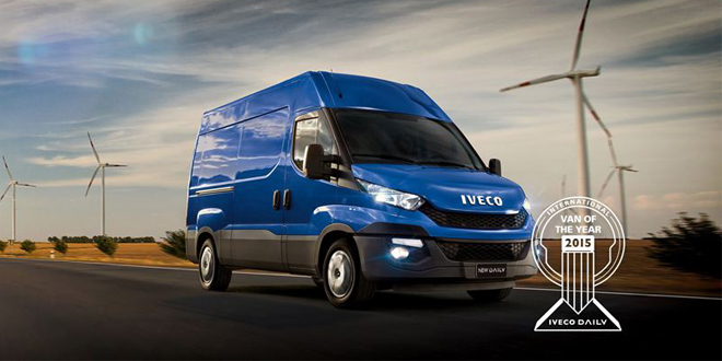 Iveco Daily voted International Van of the Year 2015