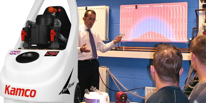 Popular - Refresher power flushing courses from Kamco