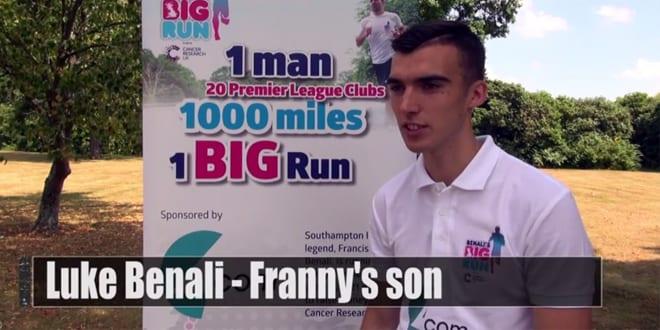 Popular - Luke Benali talks about Benali's Big Run