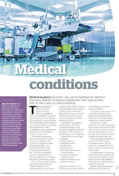 Medical conditions web