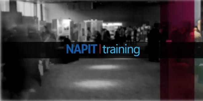 Popular - Sound the alarm: NAPIT's new training video released