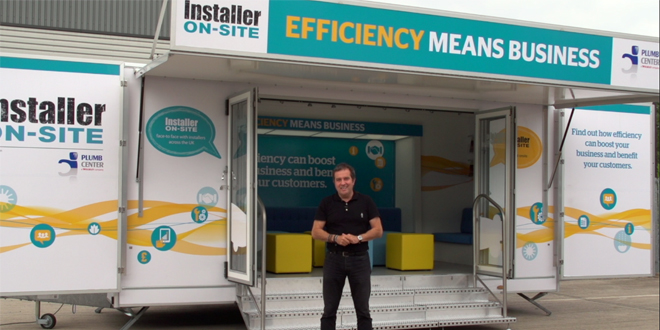 Installer ON-SITE coming to a Plumb Center near you (video)