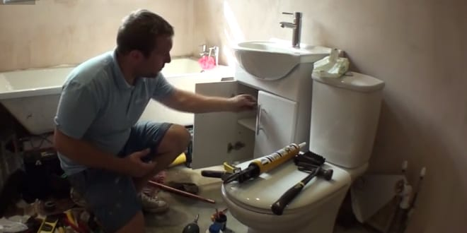 Popular - How to fit a vanity unit basin or sink