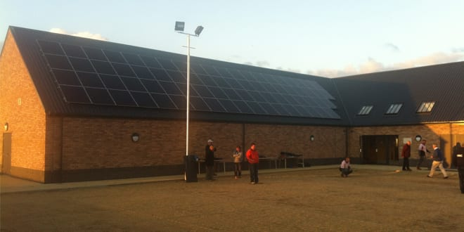 Popular - Rugby Club try out Solar PV