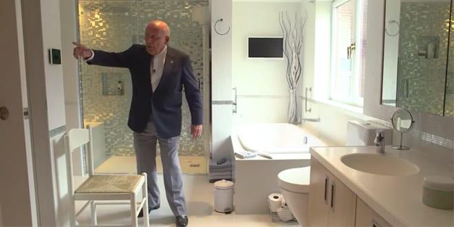 Popular - Sir Stirling Moss is a fan of underfloor heating