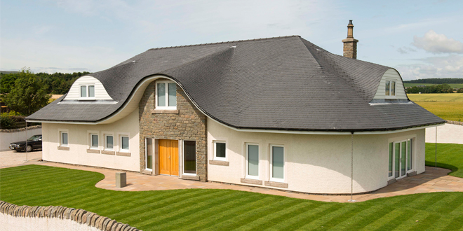 Rainwater systems put to the test in unusual Scottish property