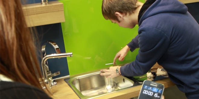 Popular - Bristan helps out budding plumbers