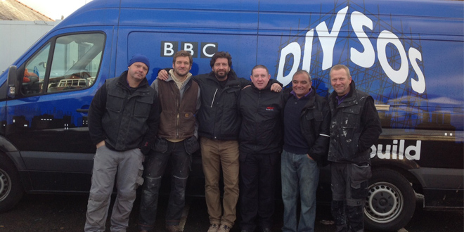 AKW give helping hand to DIY SOS