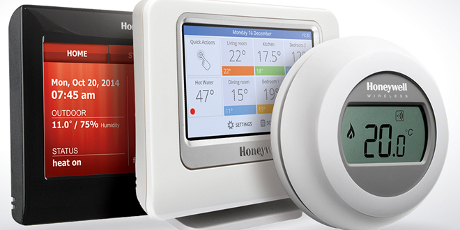 Honeywell connected web