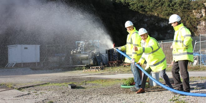 Popular - Politicians welcome first UK geothermal production in 30 years