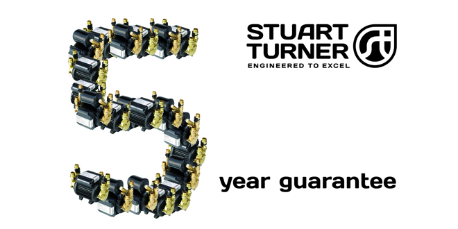 Stuart Turner announces new guarantees