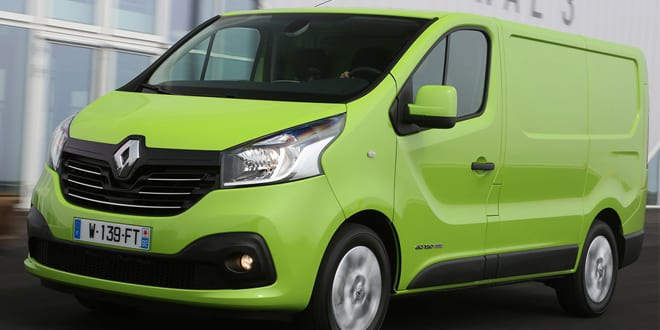 Popular - Renault Trafic van is most frugal at 2014 MPG marathon