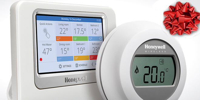 Team Up with Honeywell this Christmas