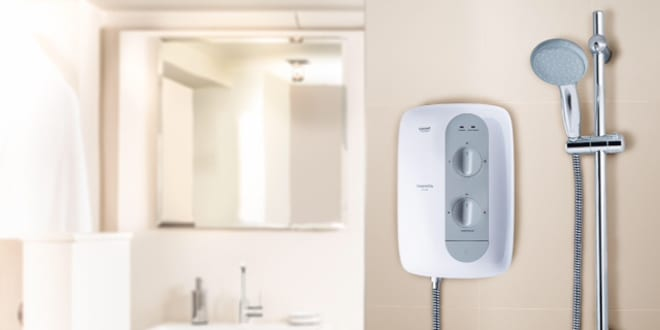 Popular - GROHE launches new Tempesta 100 Electric Shower range