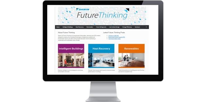 Popular - Daikin UK launches new Future Thinking website