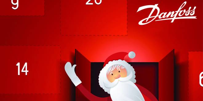 Popular - Get Christmas prizes with the Danfoss Advent Calendar competition