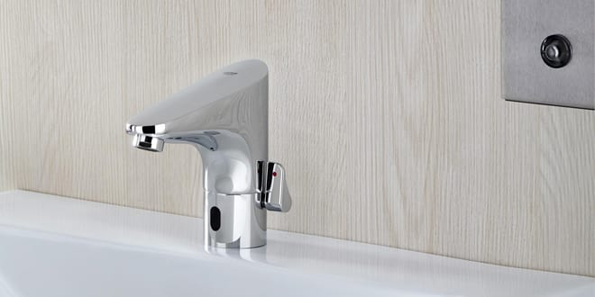 Popular - Electronically controlled taps are perfect for public facilities