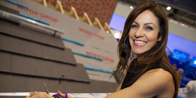 TV star Julia Bradbury opened Practical Installer 2014
