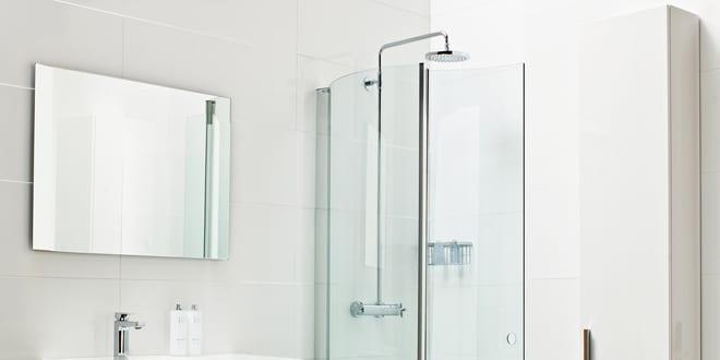 Popular - Roman Launches new Lumin8 Wave shower enclosure