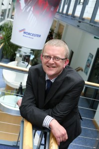 Martyn Bridges director of marketing and technical support at Worcester Bosch Group