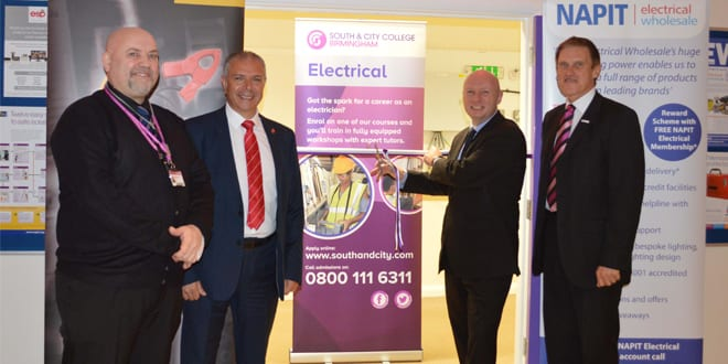 Popular - NAPIT open first aproved Electrical Training Centre in the West Midlands