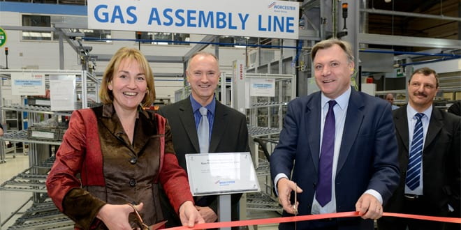 Popular - Ed Balls officially opened Worcester's new production line