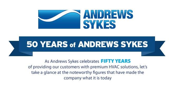 Popular - Andrews Sykes celebrates 50 years