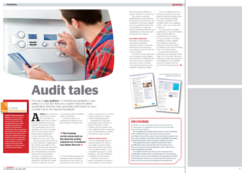 Audit tales