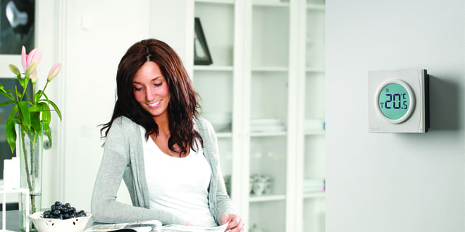 Popular - Go wireless with new Danfoss digital room thermostat