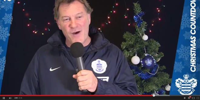 Popular - Watch QPR's cringe-worthy Christmas song