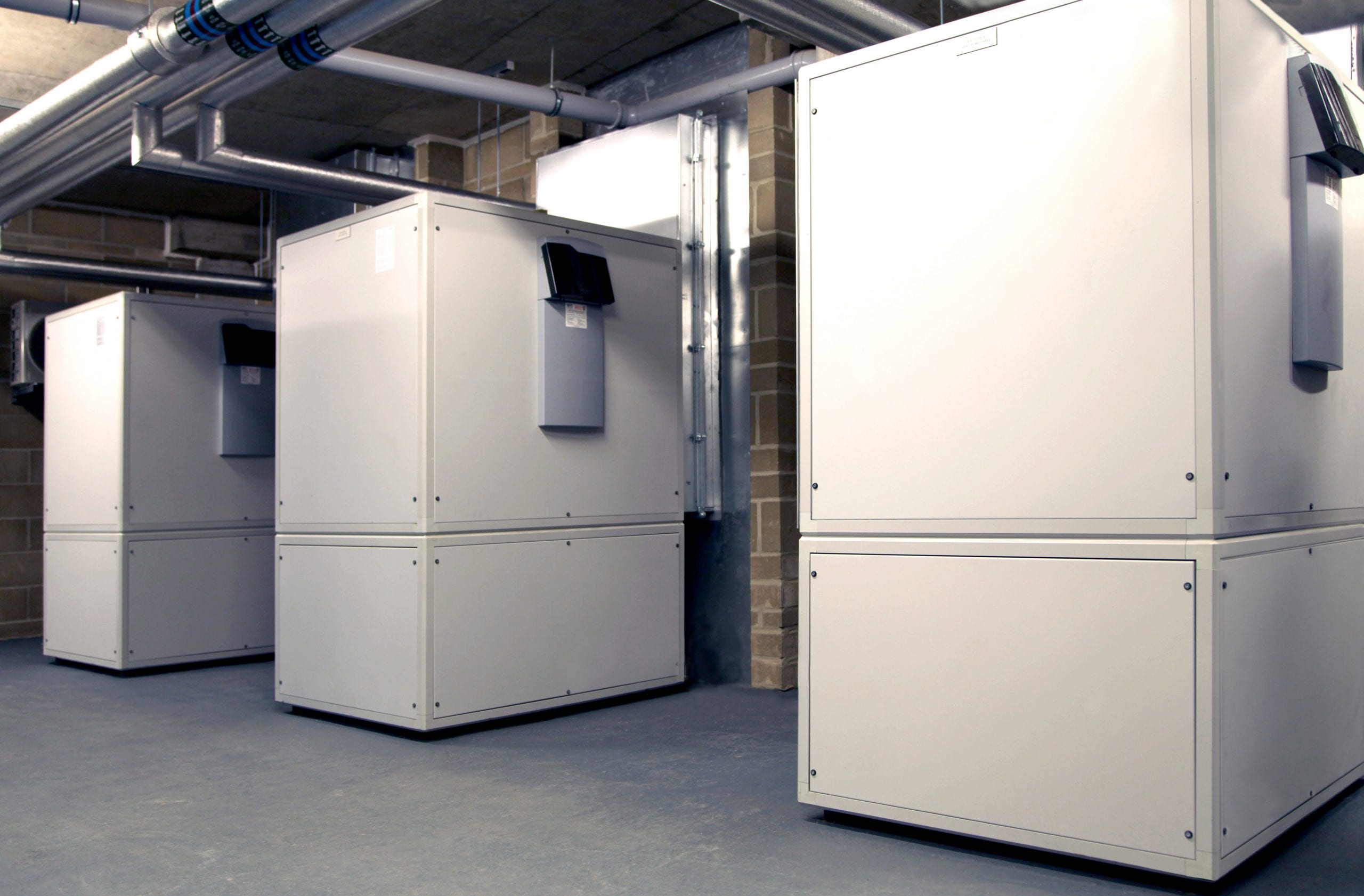 Popular - Air source heat pumps are the choice for student accomodation