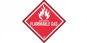 Flammable gas web