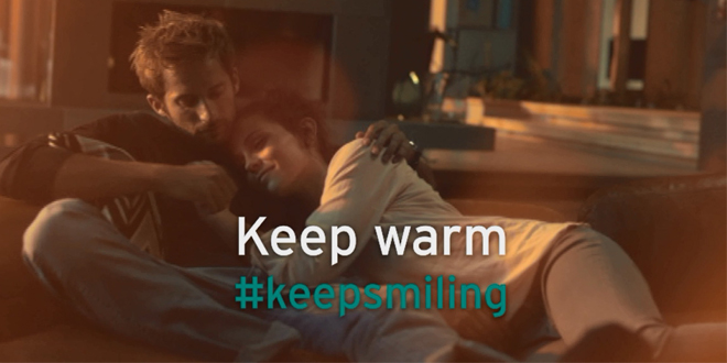 Keep smiling web