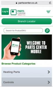 Parts center mobile