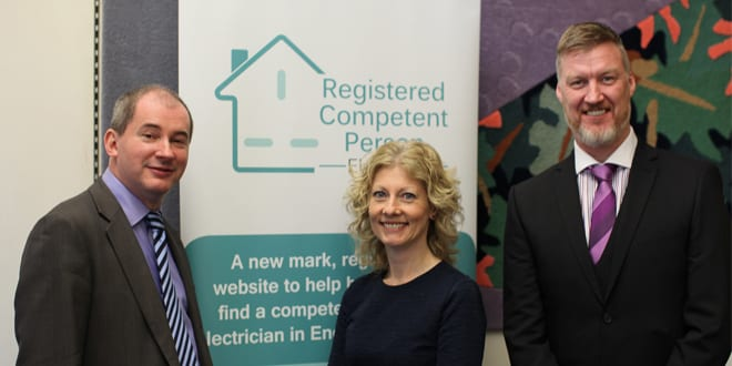 Popular - Westminster event raises awareness of competent electricians
